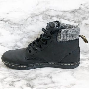 Dr. Martens Black Leather Maelly Boot
